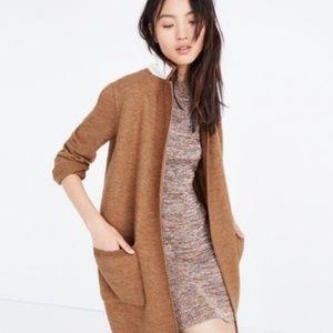Madewell Jackets & Coats - Madewell Camden Sweater Coat in Heather Camel